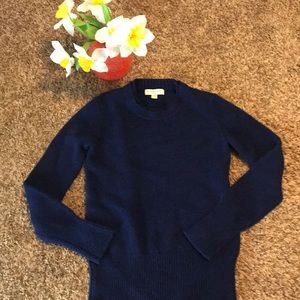 Burberry London Navy 100 cashmere Sweater